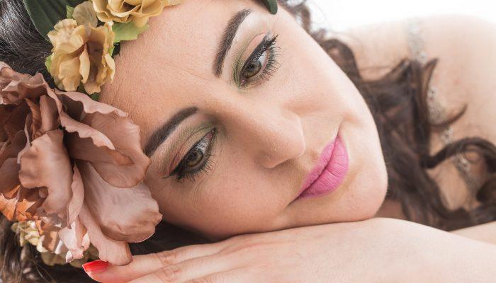 eine schöne Beauty Fotoshooting